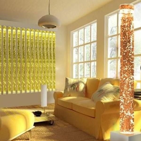 пузырьковые панели в гостиной